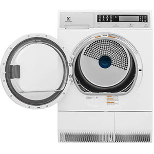 Electrolux EFDE210TIW Front Load Compact Dryer Complete Owner's Guide